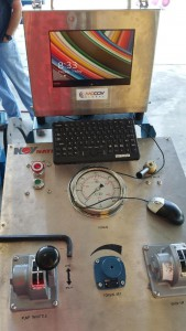 State of the art computer controlled bucking system with computer feedback and logging